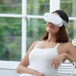 Masseur oculaire innovant : massage breveté par mouvement d'eau