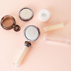 Pommeau de douche filtrant avec accessoires 100% naturel |Filtre calcaire, chlore et impuretés | Biotege