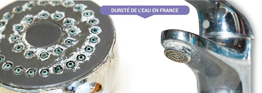 Dureté eau en France