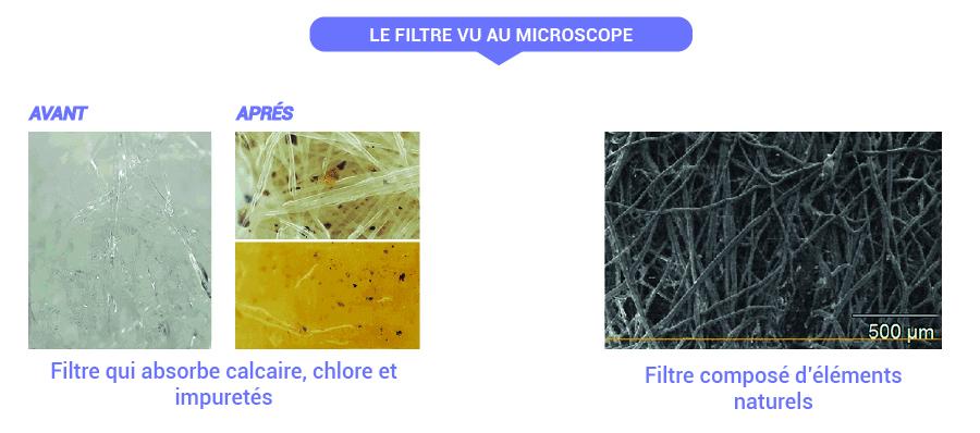 Filtre microscope