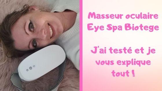 Test masseur oculaire Maison des Filles
