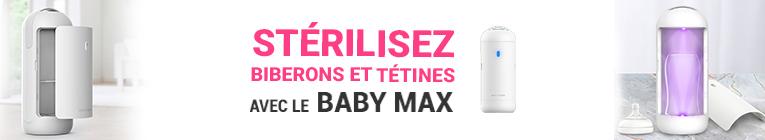 Stérilisateur LED UVC Baby Max