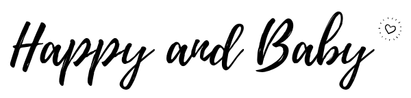 Logo happy baby blog